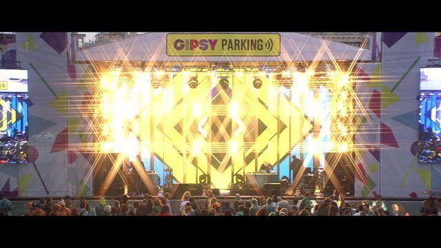 Gipsy Parking 2013  Place: Red October  Date: 27 july 2013  Gipsy Music Agency - Concept, Booking and management  SilaSveta Studio - Stage concept, light  graphic design  Chill Out Music - technical production, decoration  Kino-Unit - video production