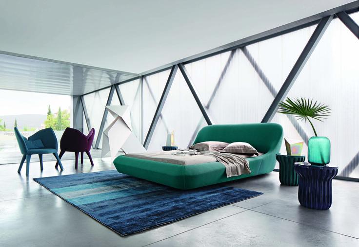 Roche Bobois | Fantasq bed, designed by Sam Accoceberry