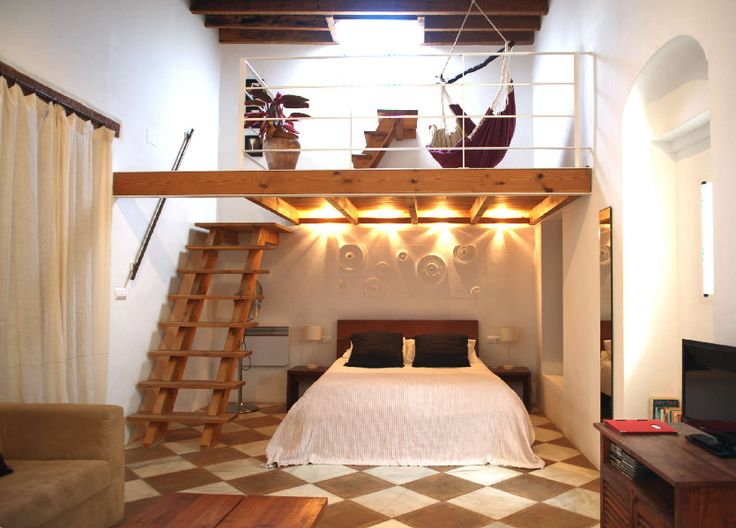 double height master suite