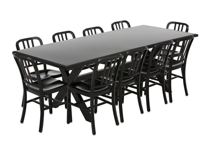 Aluminium Outdoor Family Dining Table
