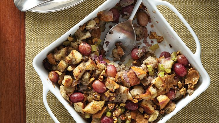 Walnut & Grape Vegan Stuffing