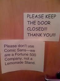 Font humor.  I like it.
