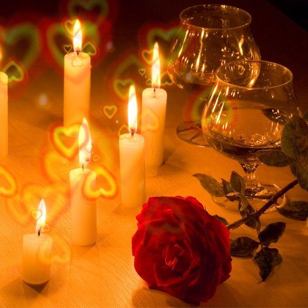 """Brille """"Love is in the Air"""" - Accessoire zur Hochzeit, Brille verwandelt Licht in bunte Herzen"""