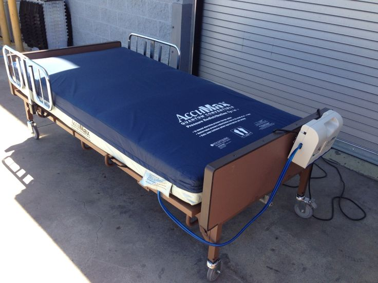 medline mdr107004 bariatric bed full electric (hd) with hill-rom