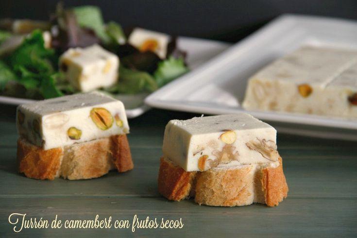 Turrón de camembert con frutos secos - MisThermorecetas