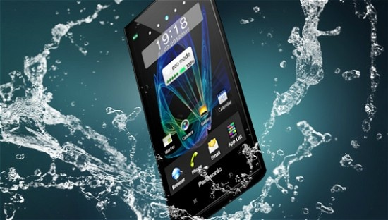 waterproof Eluga by Panasonic.