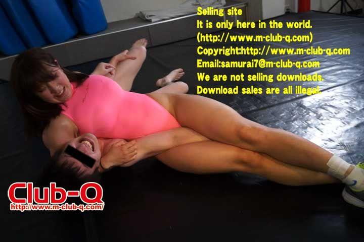 Club-Q -Gallery-  Head Scissors  Kicks  Mixed Wrestling -8197