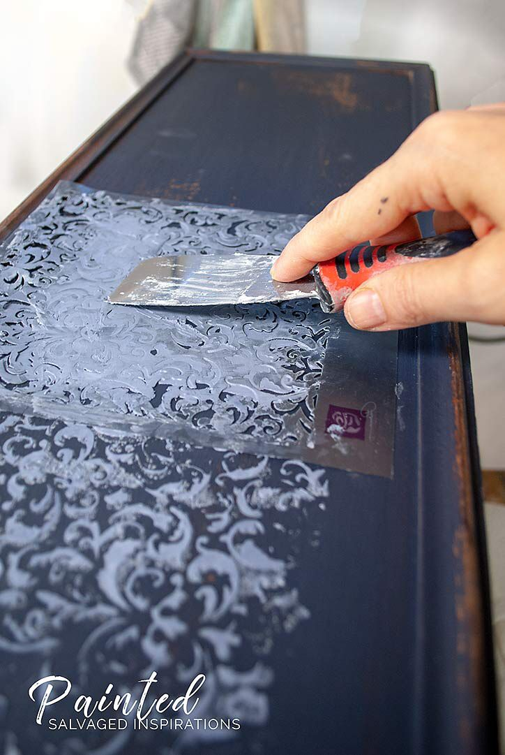 How To Use Gilding Wax on Painted Furniture   – Painted  Furniture