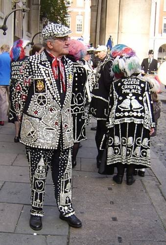 London's other royalty, the cockney pearly kings & queens.