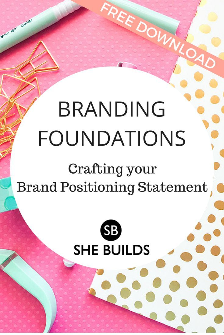 Occupy a distinct POSITION in the mind of your customer by using the marketing strategy, Brand Positioning. Download a free brand positioning worksheet.