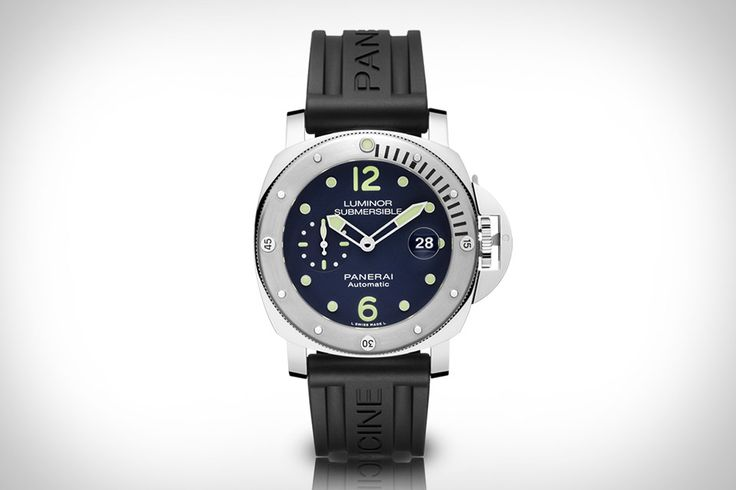 Few high-end watches are available online. The Panerai Luminor Submersible Acciaio Watch is available exclusively online. This limited-edition take on the popular Submersible series is powered by a OP XXX automatic caliber movement, which runs the hours and minutes hands...