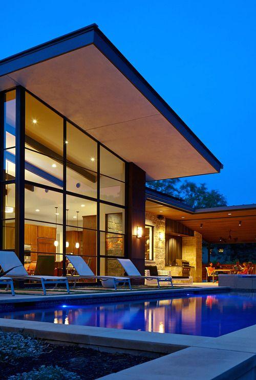 By Larue Architects: Source: Lagunabay .Tumblr