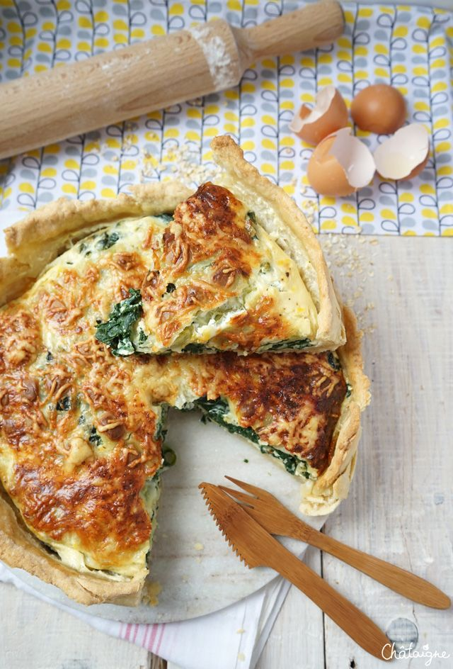 tarte aux épinards et aux ravioles du Royans - Blog de Châtaigne