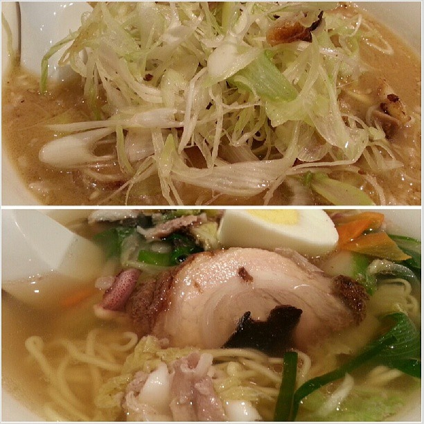 #negiitame #gomoku #ramen for #dinner #yummy#food#japanese#noodle#philippines#ネギ炒め と#五目#ラーメン#晩ごはん#フィリピン