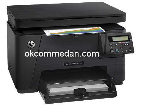 printer HP laserjet warna  m176n