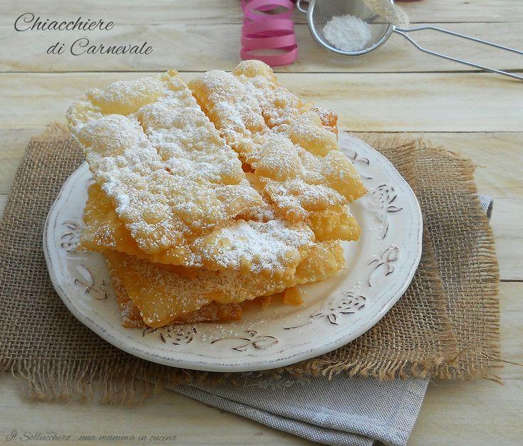 Chiacchiere+di+Carnevale,+ricetta+di+Iginio+Massari