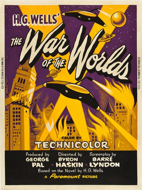 The War of the Worlds (1953) Gene Barry, Ann Robinson, Les Tremayne, Robert Cornthwaite
