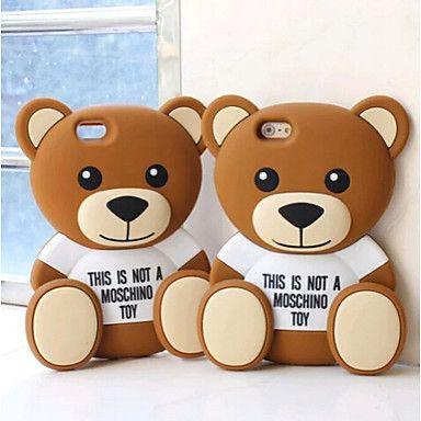diseño del oso lindo material de silicona para el iphone 6s / 6 más – EUR € 8.83