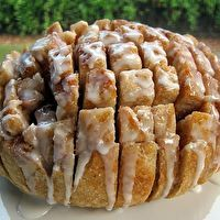 Cinnamon Pull Apart Bread perfect for Christmas morning