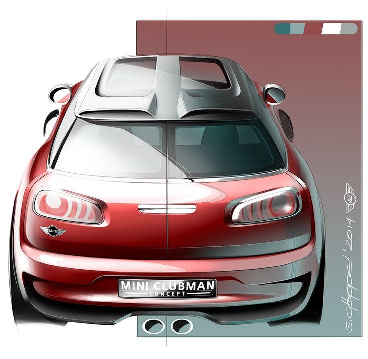 2014 MINI Clubman Concept on Behance