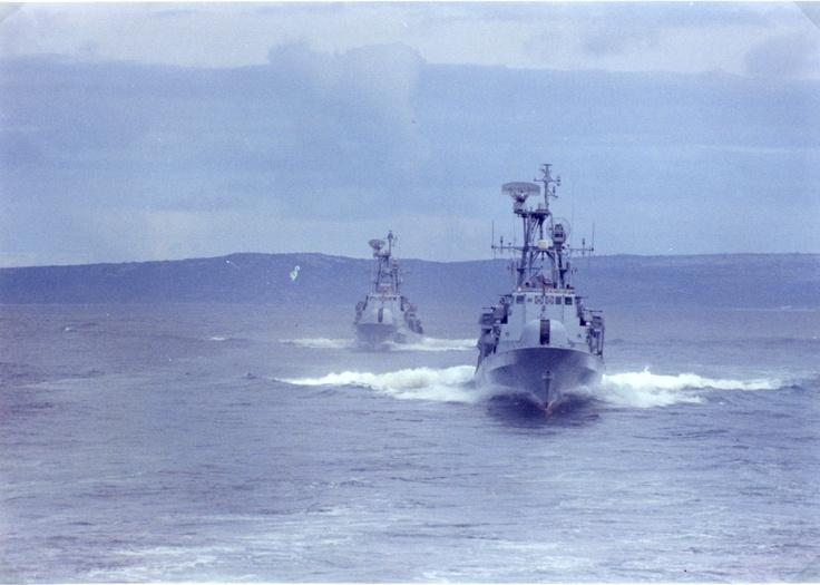 SA Navy, Warrior Class Strike Craft, 1990 - 1992