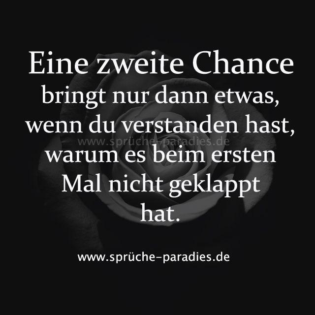 Eine zweite Chance bringt nur dann etwas, wenn du verstanden hast, warum es beim ersten Mal nicht geklappt hat.