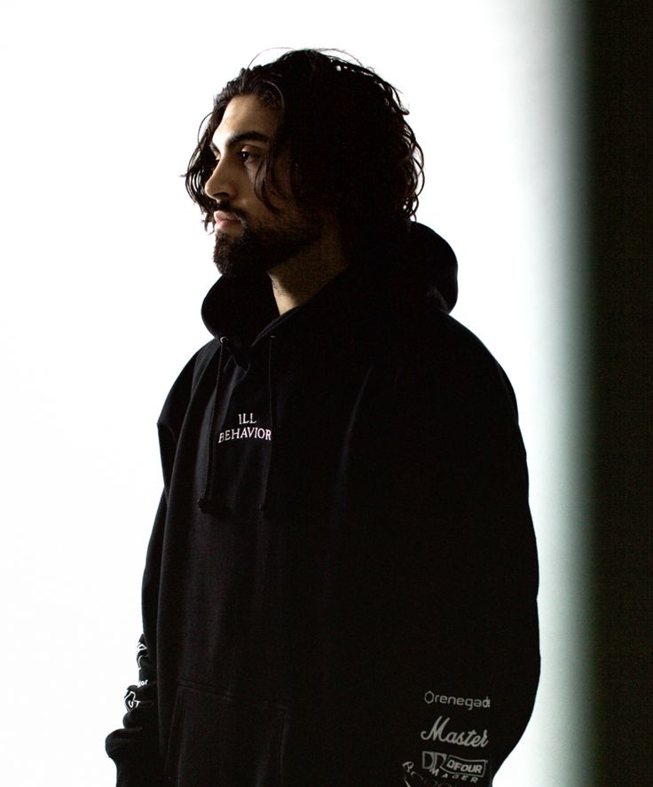 ILL BEHAVIOR HOODIE [BLACK]