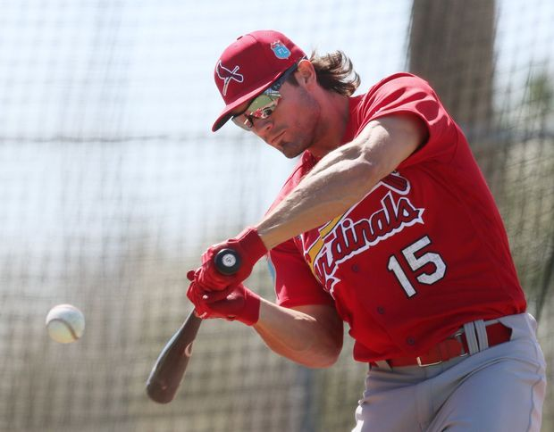 Cards Spring Training 2016. Randal Grichuk - soooo excited to see what he can do this season.