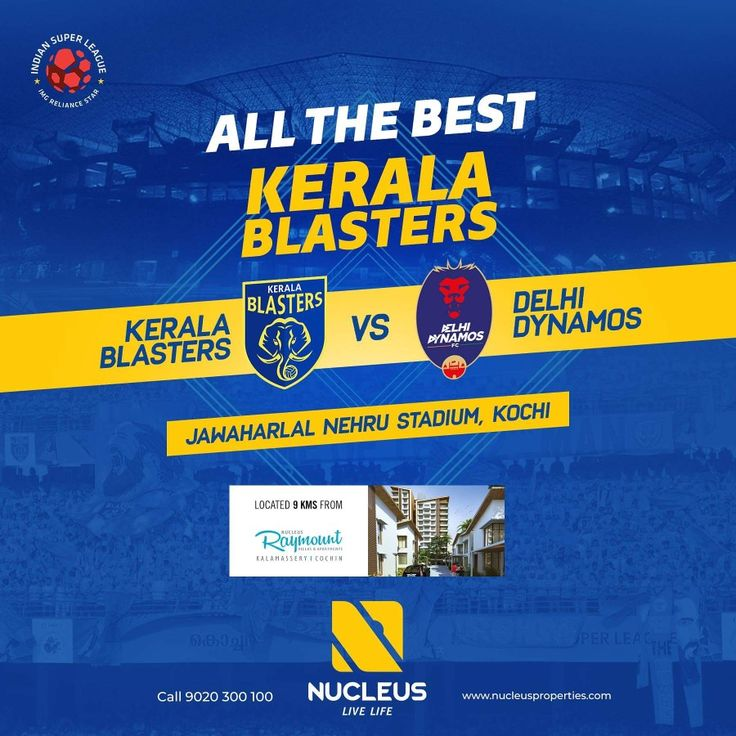 Wishing Kerala Blasters all the best for their match against Delhi Dynamos FC in the ISL- Indian Super League.   #KeralaBlasters #KBFC #YellowTakesOver #KERDEN #LetsFootball #India  #Architecture #Home #City #Elegance #Environment  #Beautiful #Exquisite #Interior #Design #Comfort #Luxury #Life  #Style #LifeStyle #Nature #View #Atmosphere #Apartment #Villa