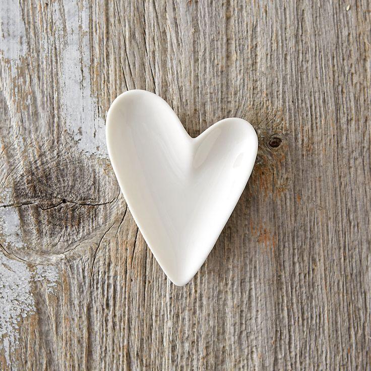 Ceramic Heart Trinket Dish in Valentine's Day Valentine Favorites at Terrain
