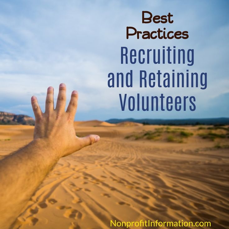 Recruiting and Retaining Volunteers - Nonprofit Management Non Profit Management 501c3