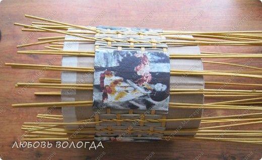 Master class z wkładkami Weave bochonochek papieru Rury zdjęcie 12