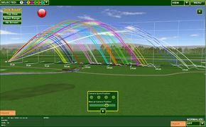 One of the nice things about having all this new fancy technological equipment like Trackman, Flightscope, ShotLink, etc., at various PGA Tour events is that distance data can be gathered for each of the players. In case you haven't come across it already, here are the approximate Trackman carry d…