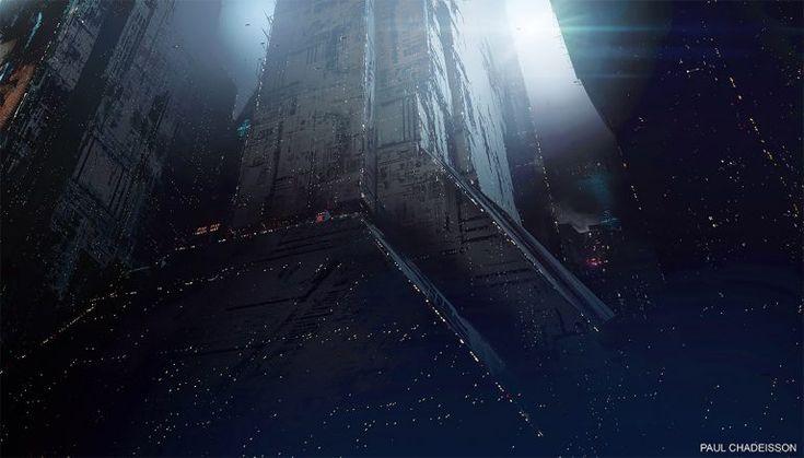 2049 – 2022 Blackout: Blade Runner Illustrations by Paul Chadeisson – Inspiration Grid | Design Inspiration
