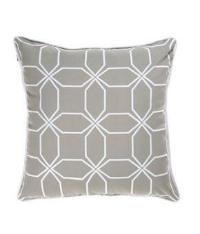 Tienda Palacio - Para tu Casa - morocco - almohadón geométrico tonos neutros