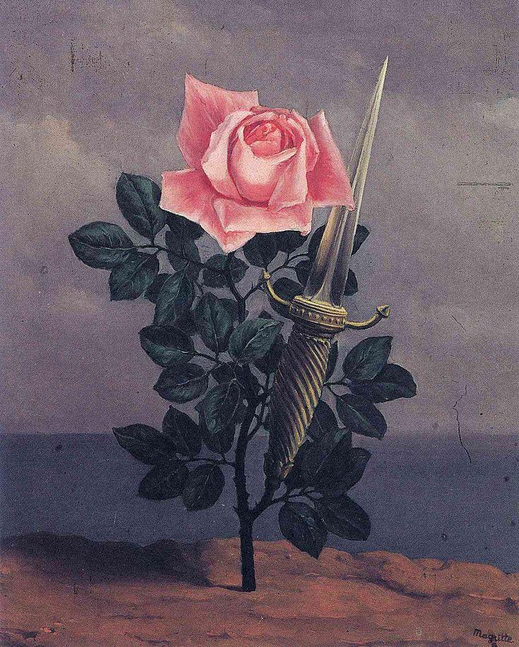 artmagnifique:  RENE MAGRITTE. Le Coup au Coeur (The Blow to the Heart), 1952. Surrealism.