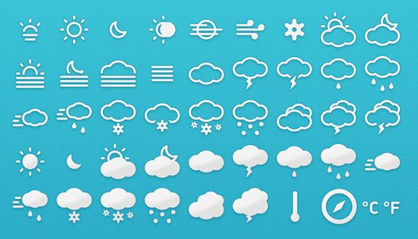 Meteocons - Weather Icons