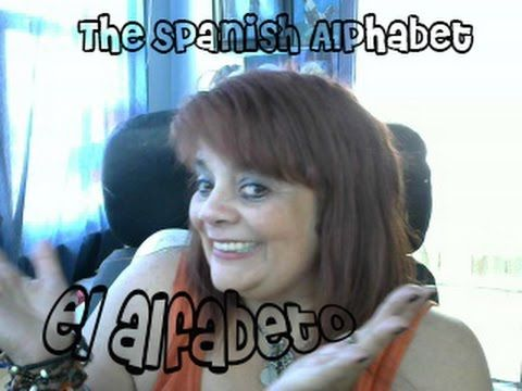 How to pronounce the Spanish Alphabet- El Abecedario (Alfabeto) en Español