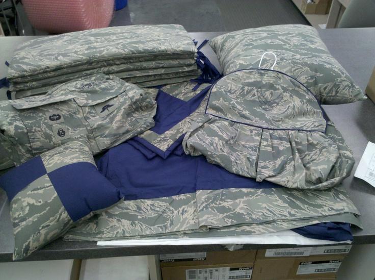 Air Force Abu Crib Bedding Set Bumper Pads Crib Skirt