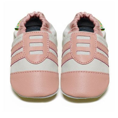 Pink Jazzy Joggers - Soft Sole Baby Shoes I Fox & Frog I FREE SHIPPING Australia Wide