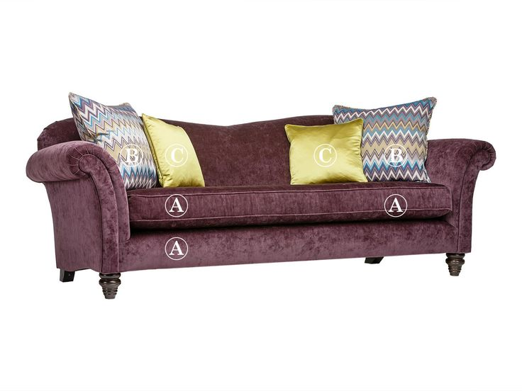 Etienne 3 seater sofa Fabric A | Parker Knoll | Cousins Furniture