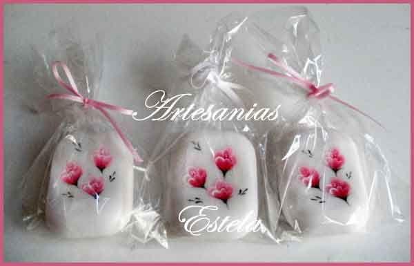 Souvenirs - Regalos - Jabones Pintados