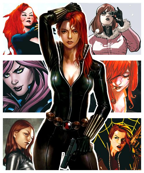 I'm the Black Widow. I could eat you for lunch.
