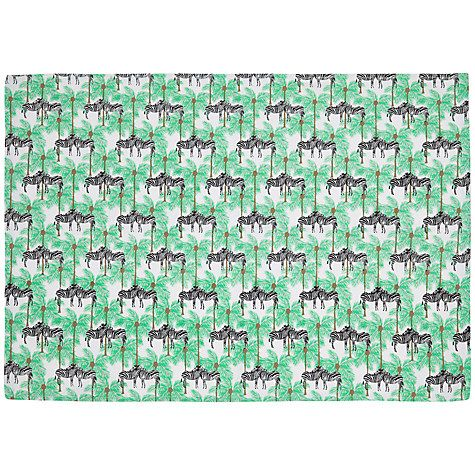 Buy Fenella Smith Zebra and Palm Tree Tea Towel Online at johnlewis.com
