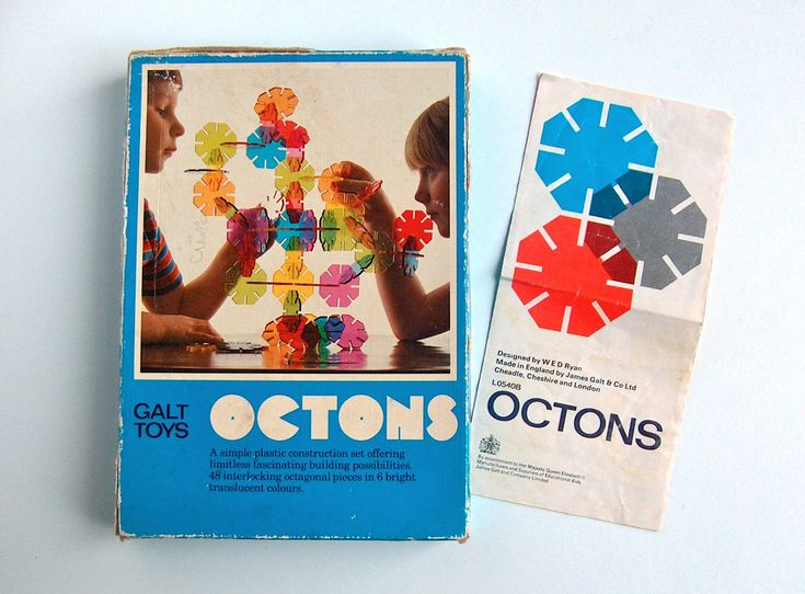 Potshots: 1970s playtime. Make your own sculptures with Galt Octons
