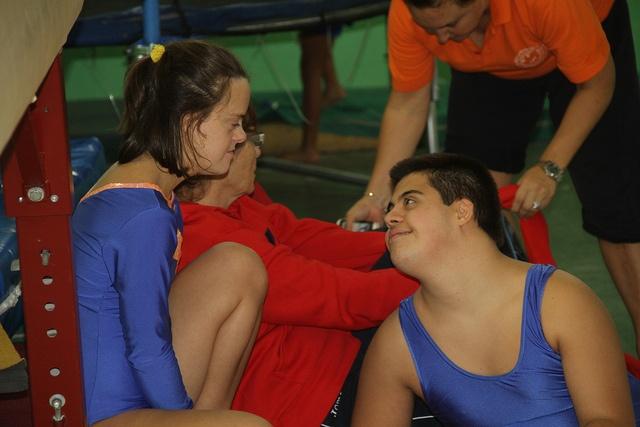 Special Olympics a VNG. Gimnàstica by Vilanova i la Geltrú, via Flickr