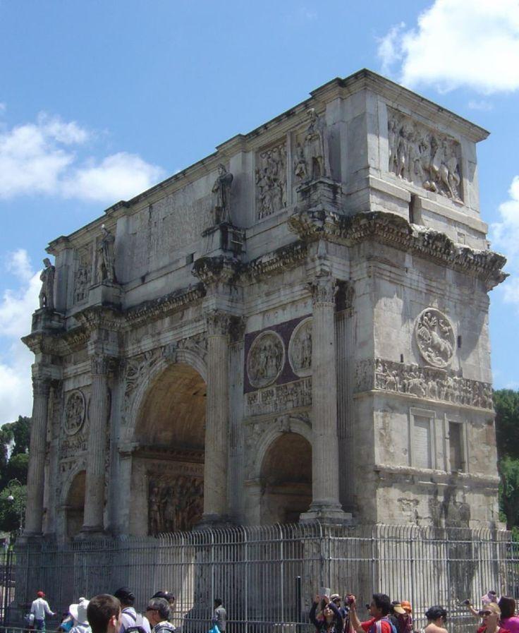Arch of Constantine (AD 315), Rome