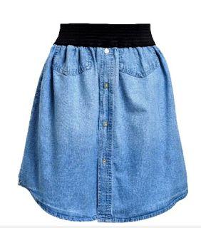 Recicla camisas viejas y haz lindas faldas de moda ~ Mimundomanual