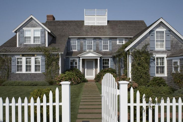 Many Of The Older Homes On Nantucket Have Names Meet