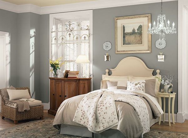 Serene Gray Hideaway Gray Benjamin Moore And Bedrooms